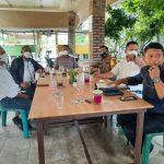 Kapolres Sergai dan BPN saat Gelar Rakor terkait Penanganan Permasalahan Tanah di Kabupaten Sergai. Foto: Humas Polres Sergai.