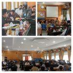 Rapat Dengar Pendapat DPRD Kota Tebing Tinggi bersama Dinas Perdagangan. Foto: Roy Mansyah.