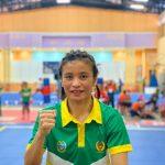 Rosalina Simanjuntak Atlet Sanda Wushu Provinsi Sumatera Utara