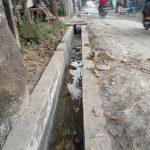 Pembangunan Parit Pasangan Kelurahan Lalang Tebing Tinggi Disoal Warga,Sabtu (09/10/2021)