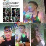 Tangkapan Layar Video Viral WBP Lapas Kelas IIA Pematangsiantar Karaokean didalam Sel Tahanan. Foto: Redaksi Linktodays.com